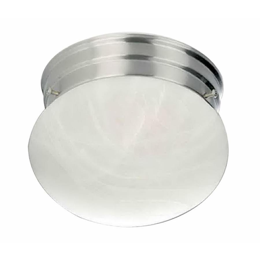Lavelle 7-in W Brushed Nickel Flush Mount Light