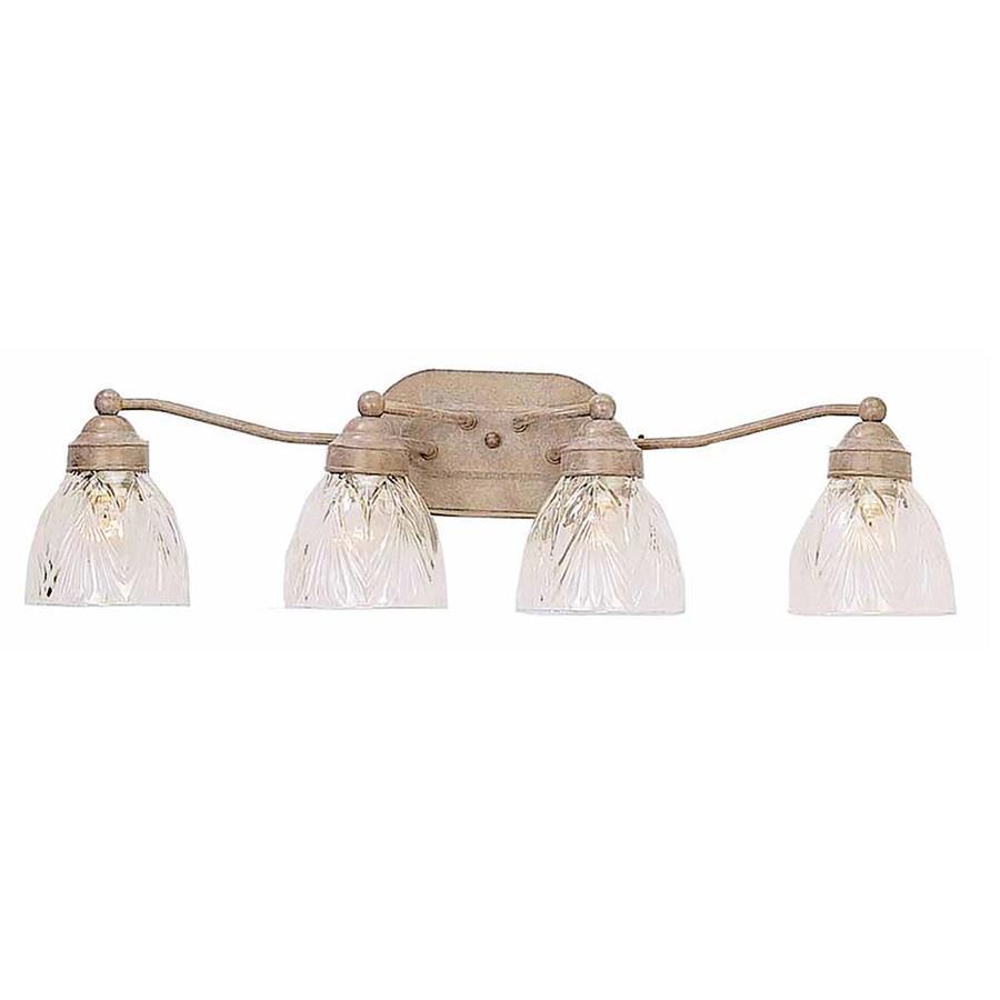 Bavon 4-Light 7.75-in Prairie Rock Vanity Light