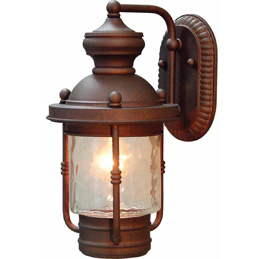 Karluk 14.5-in H Burnished Bronze Outdoor Wall Light