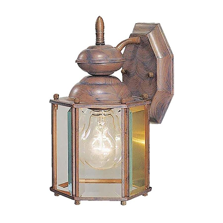 Paulden 12.75-in H Prairie Rock Outdoor Wall Light