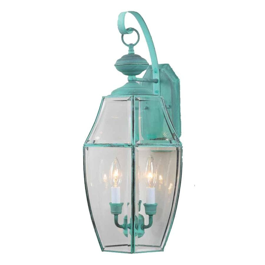 Milburn 24-in H Verde Green Outdoor Wall Light