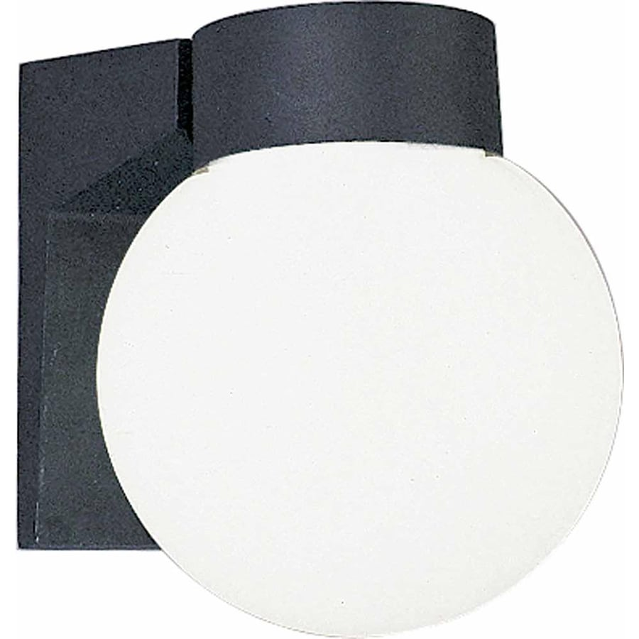Covel 7-in H Black Outdoor Wall Light