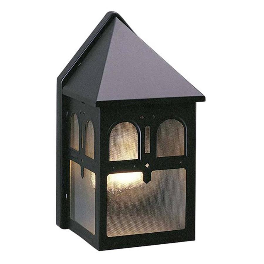 Cucino 8.5-in H Black Outdoor Wall Light