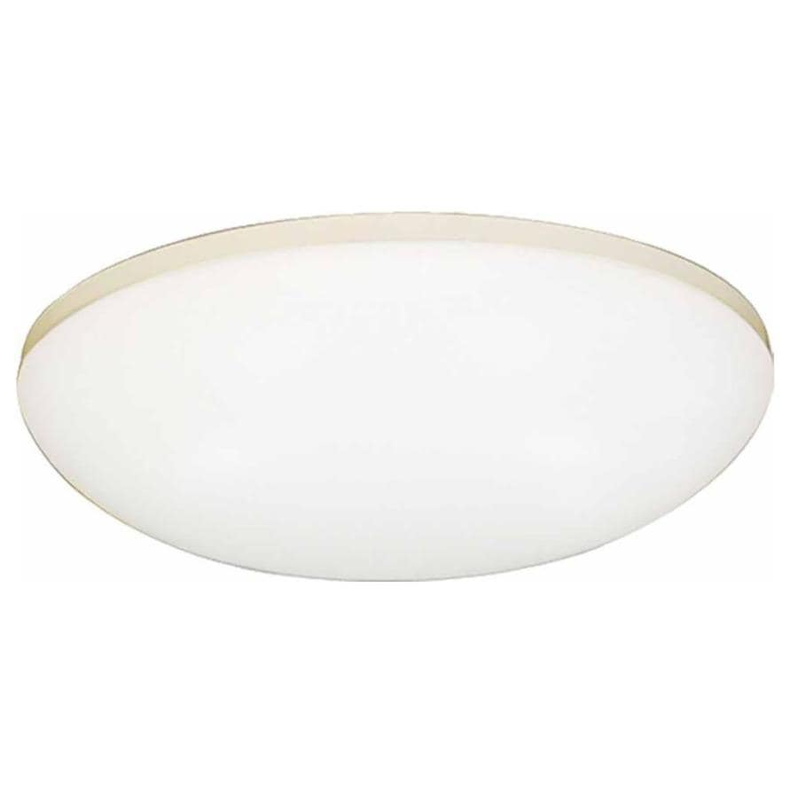 Croghan 11-in W White Flush Mount Light