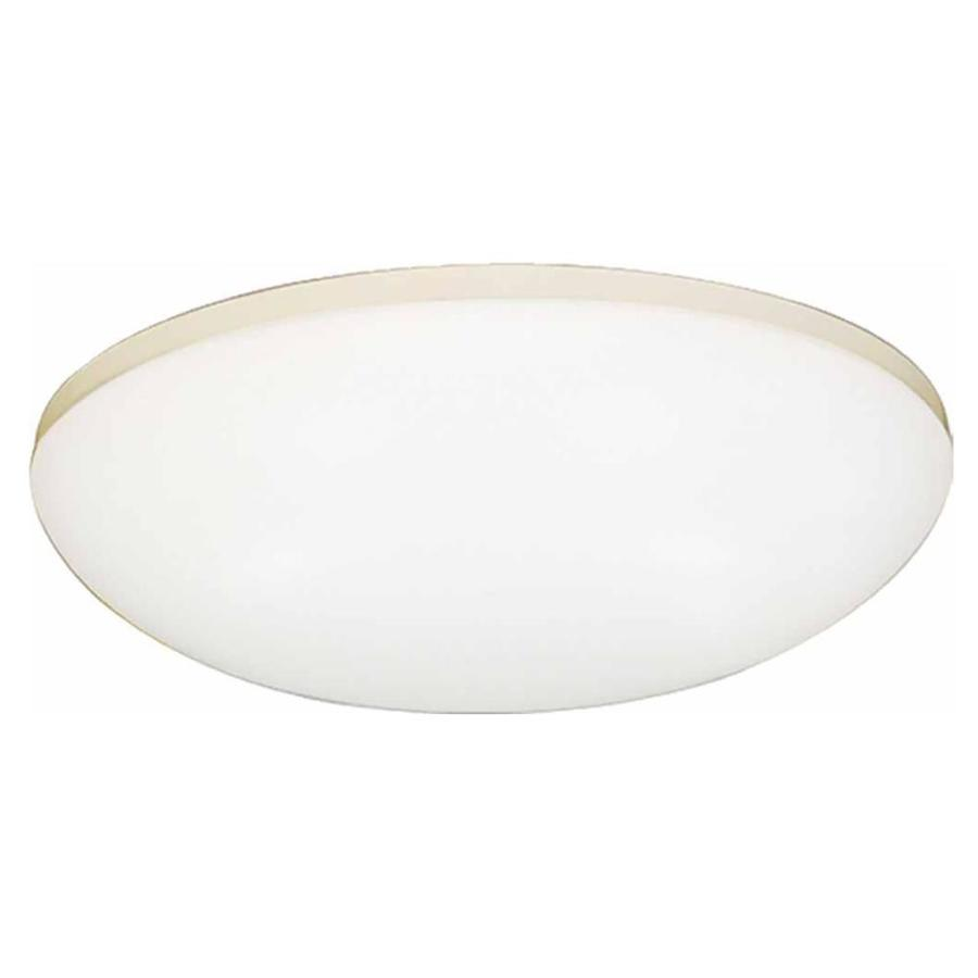 Croghan 14-in W White Flush Mount Light