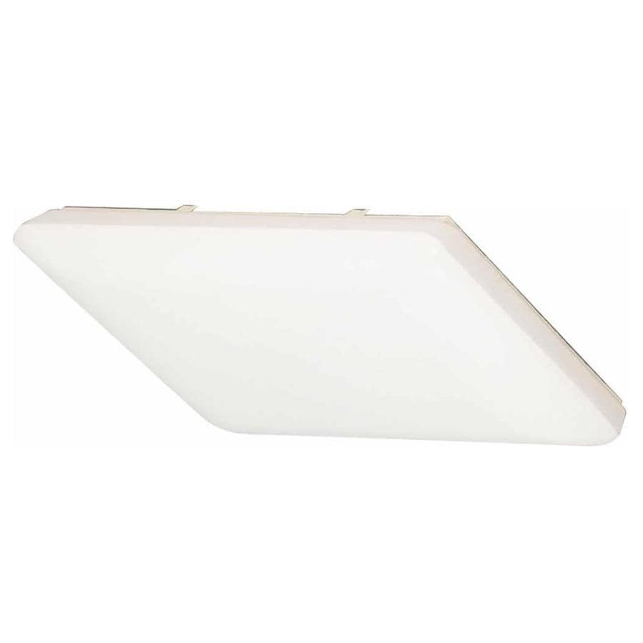Erving 19-in W White Flush Mount Light