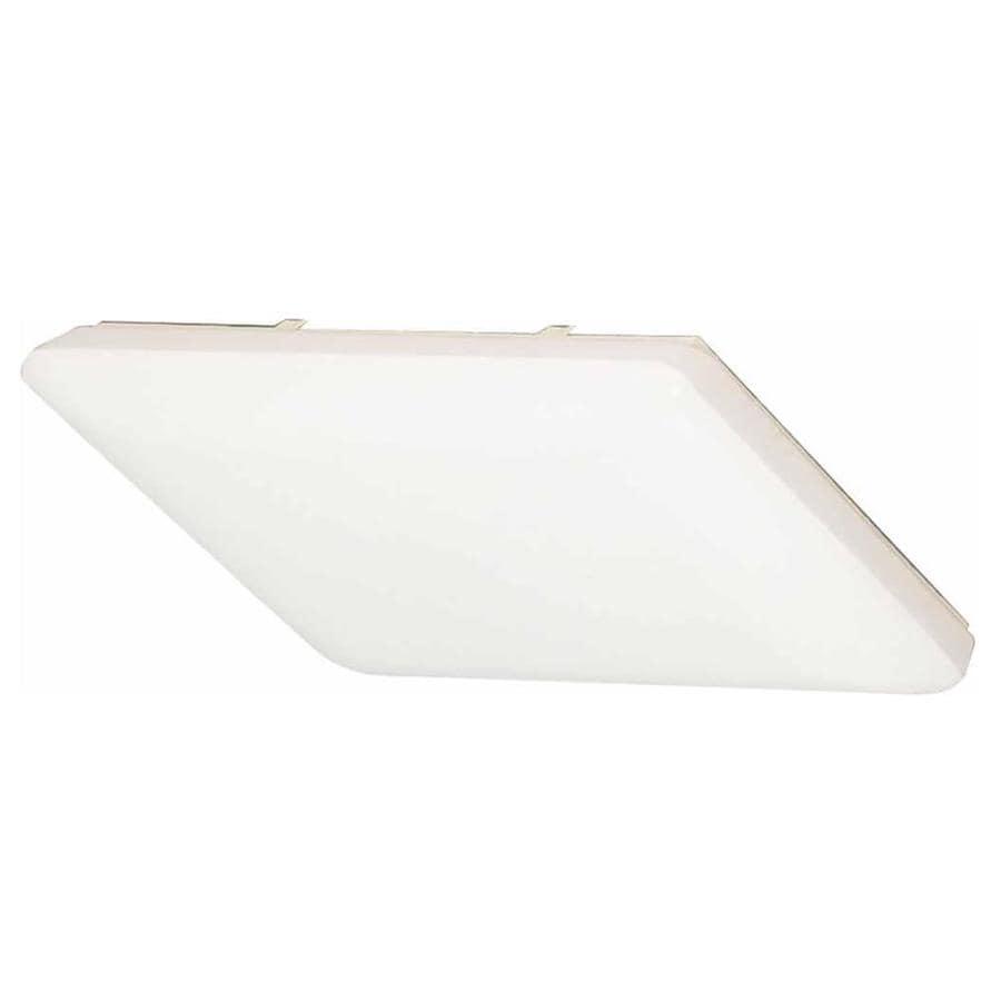 Erving 19-in W White Ceiling Flush Mount Light