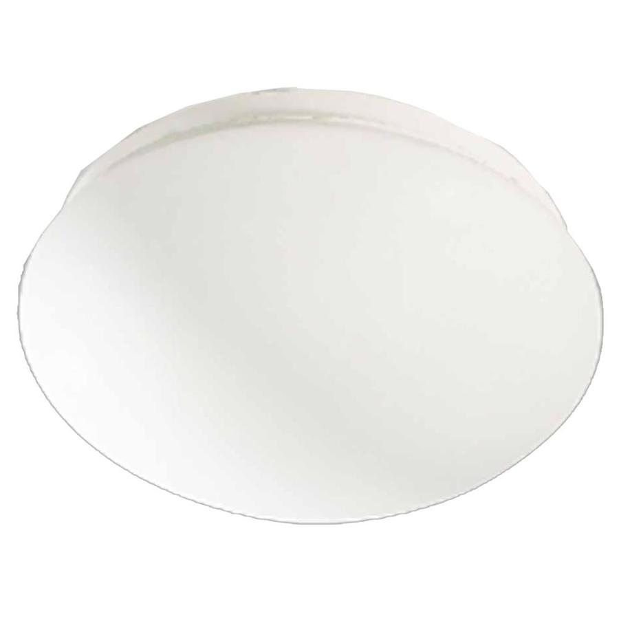 Hebert 8.75-in W White Flush Mount Light