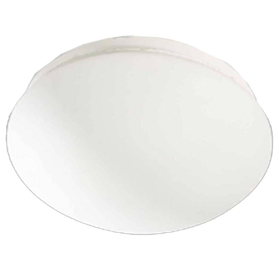 Hebert 11-in W White Flush Mount Light