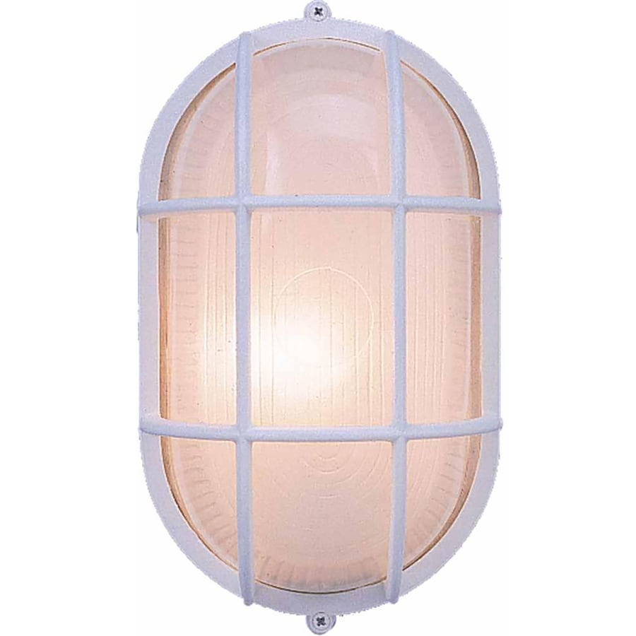 Cortaro 11-in H White Outdoor Wall Light