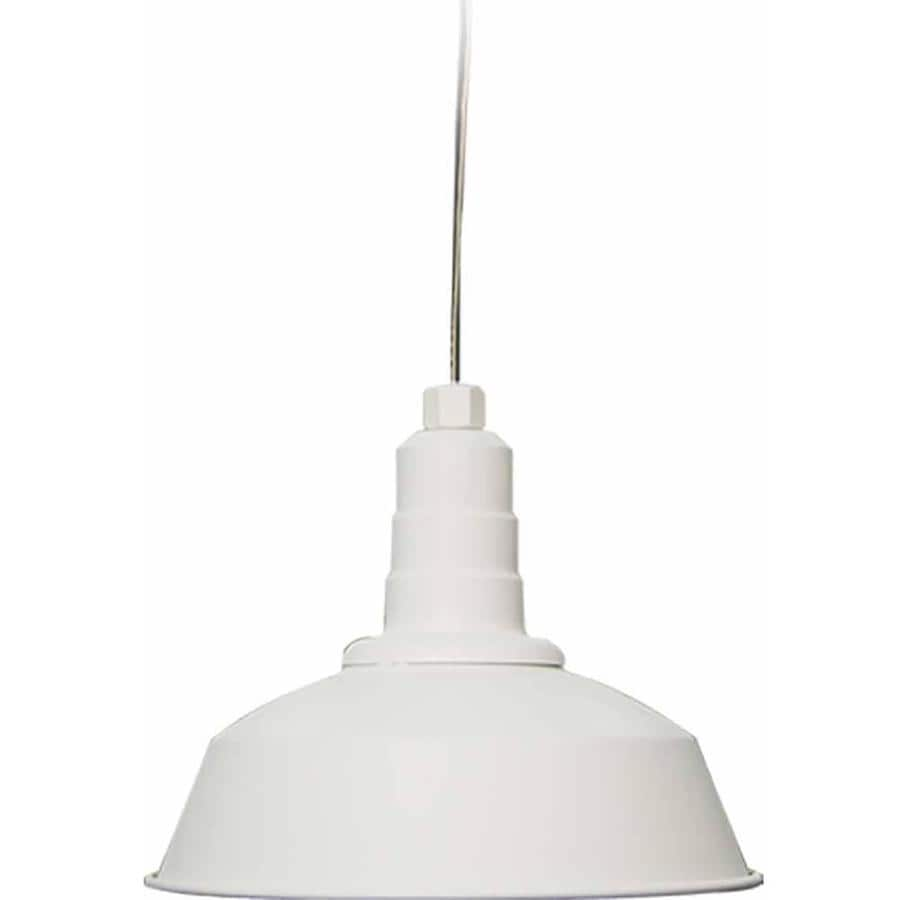 Sunburg 12-in White Mini N/A Pendant