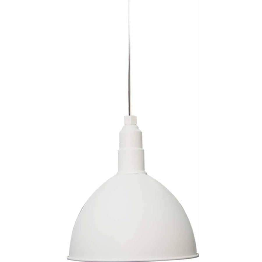 Sunburg 12-in White Single N/A Pendant