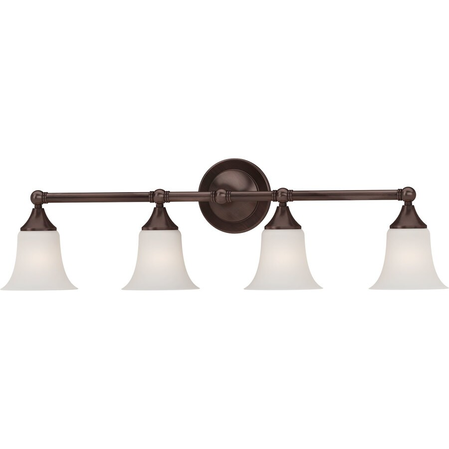 Idalou 4-Light 9.25-in Florence Bronze Vanity Light