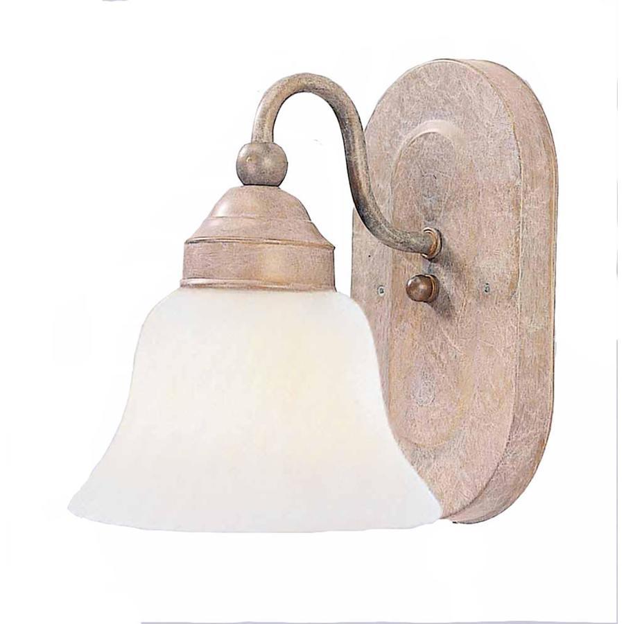 Retsof 1-Light 8-in Prairie Rock Vanity Light