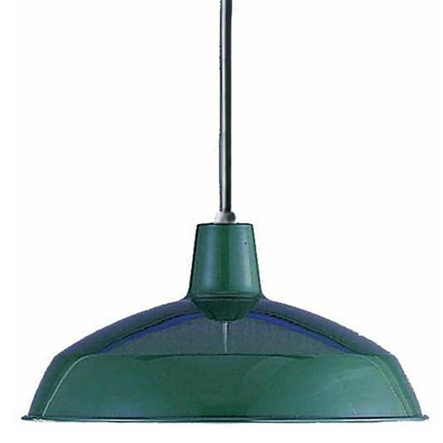 Houlton 15.75-in Dark Green Mini N/A Pendant