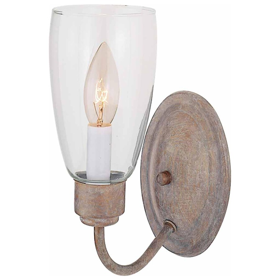 Frazer 4.25-in W 1-Light Prairie Rock Directional Hardwired Wall Sconce