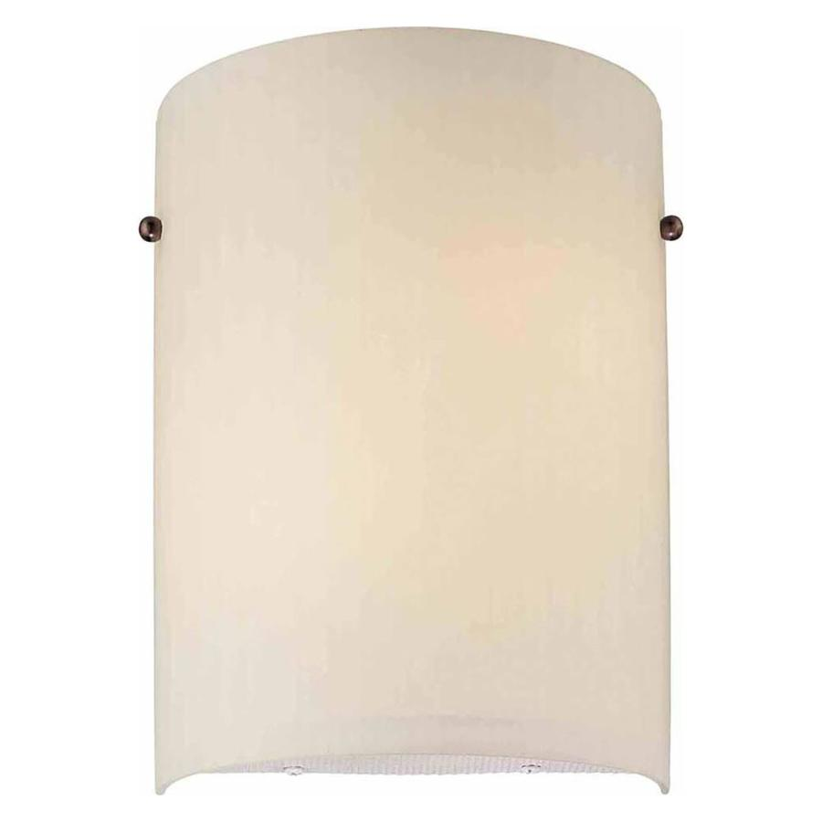 Arkdale 8-in W 2-Light Florence Bronze Directional Hardwired Wall Sconce