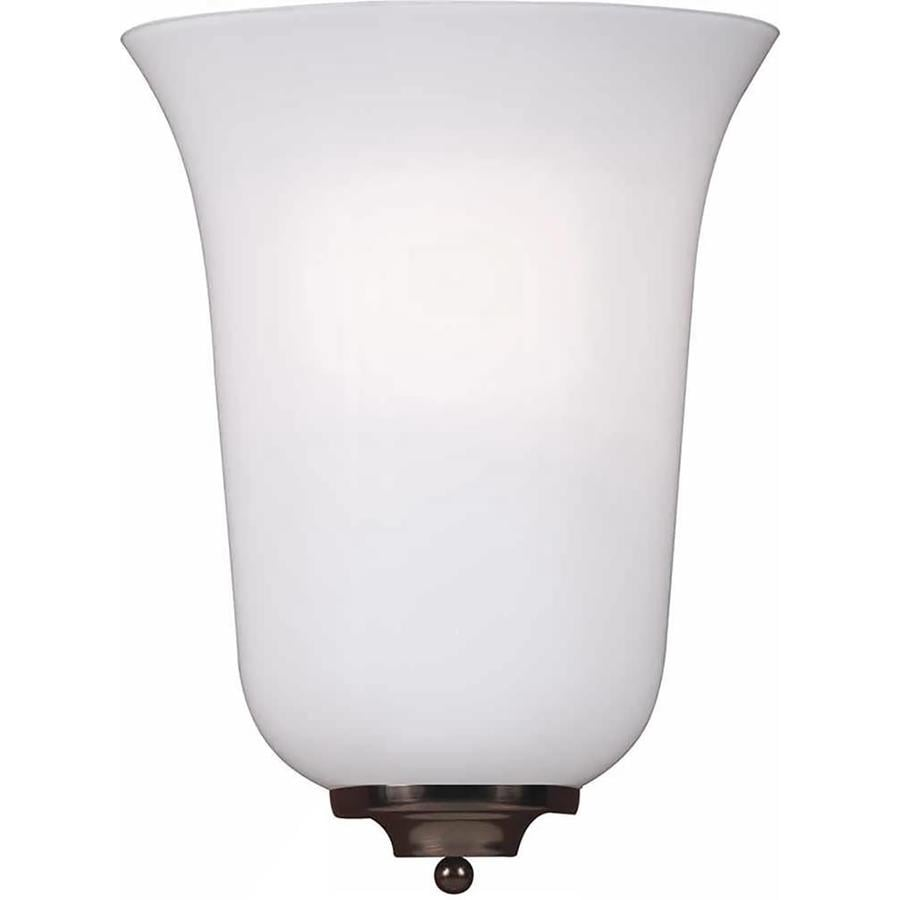 Wall Sconces Location : Shop Noctor 8-in W 1-Light Antique Bronze Directional Wall Sconce at Lowes.com