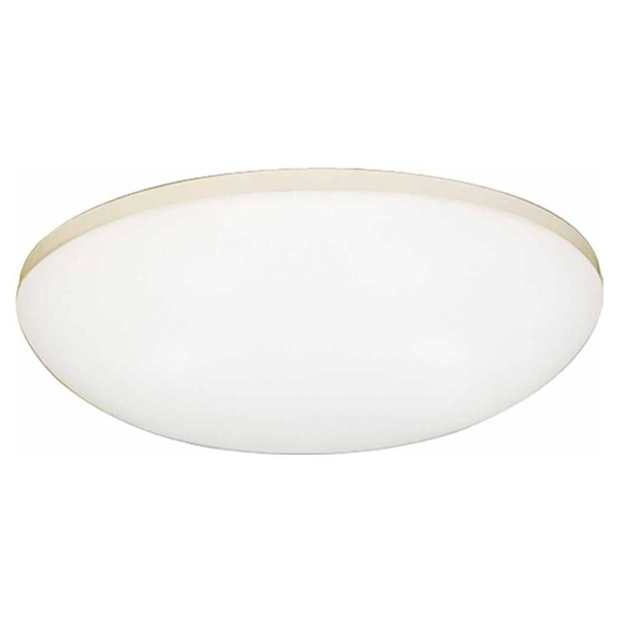 Drayton 11-in W White Flush Mount Light