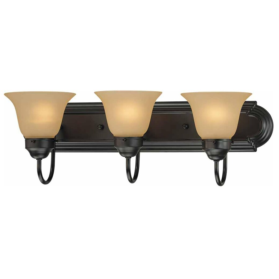 Kihei 3-Light 8-in Antique Bronze Vanity Light