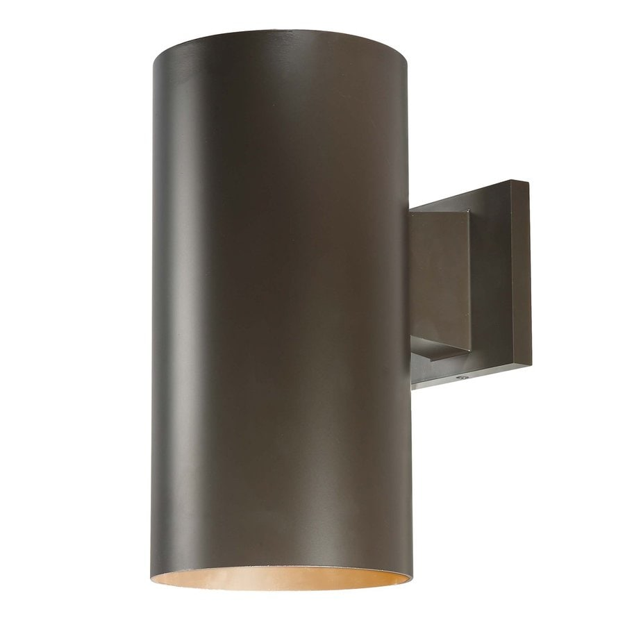 Owen 12-in H Antique Bronze Outdoor Wall Light