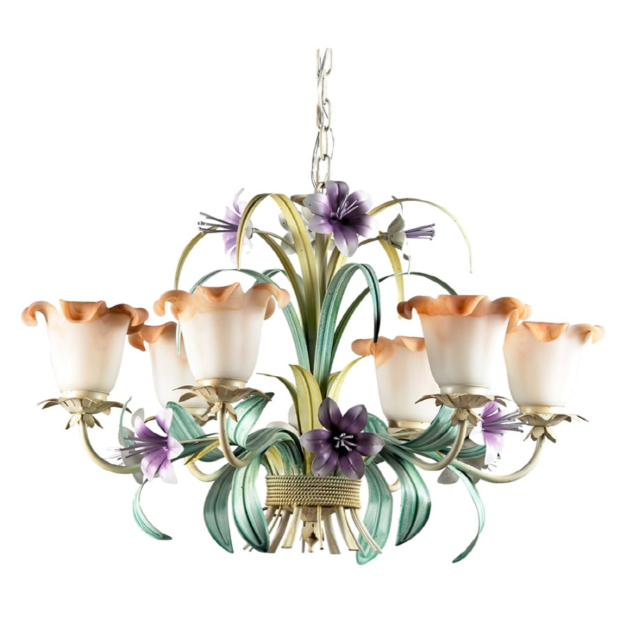 Westmore Lighting 6-Light Hand Painted Chandelier
