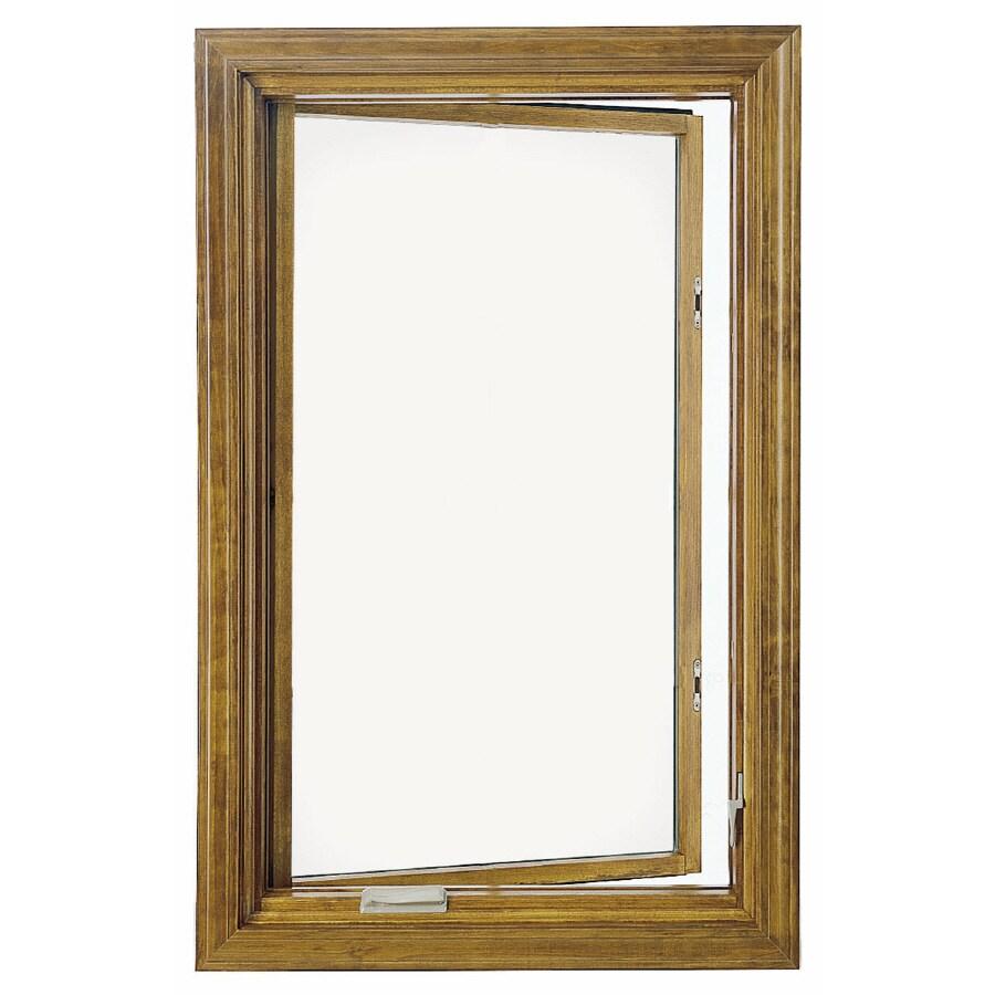 Shop pella casement window at for Casement window reviews