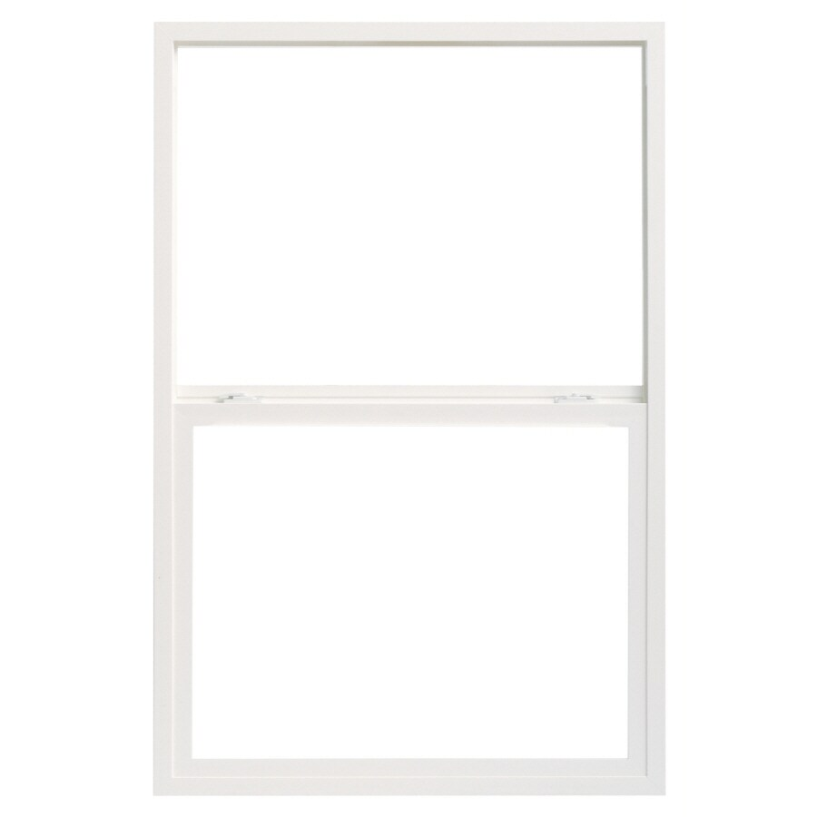 Pella 28X54 ThermaStar by Pella Single Hung Vinyl 10 Series Clear Insulated Glass White with Screen