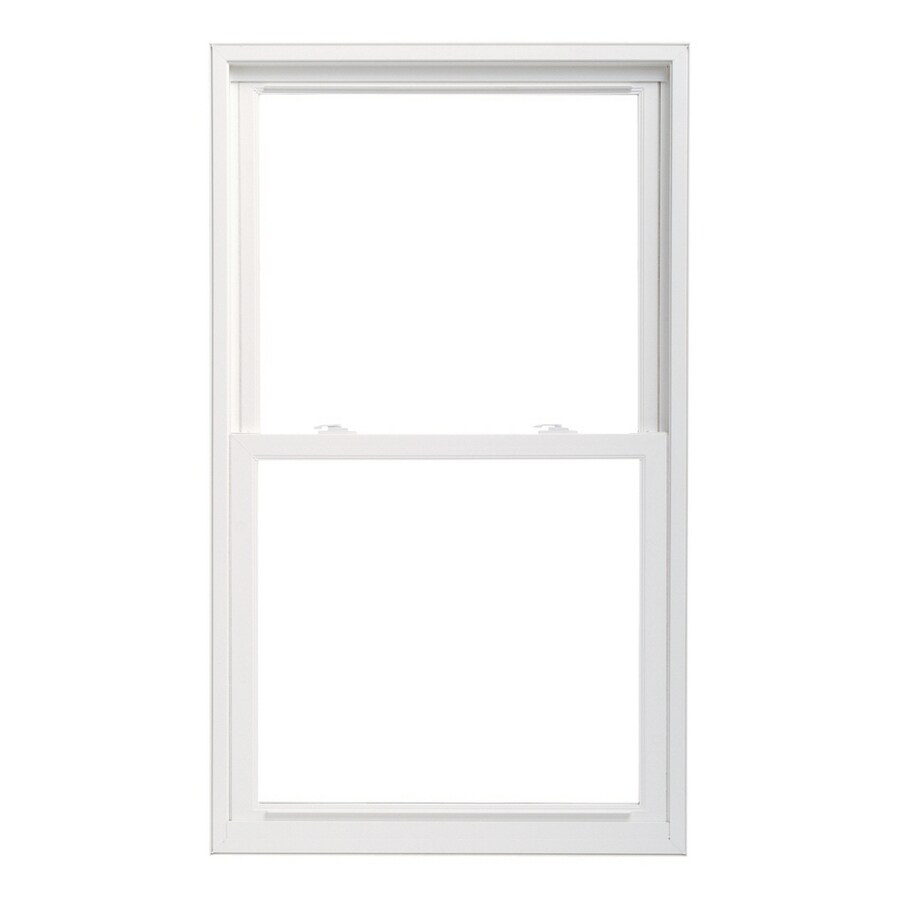 "Pella 36X60 ThermaStar by Pella Double Hung Vinyl 25 Series Clear Insulated Glass White with Screen 4-9/16"" Jam Extension"