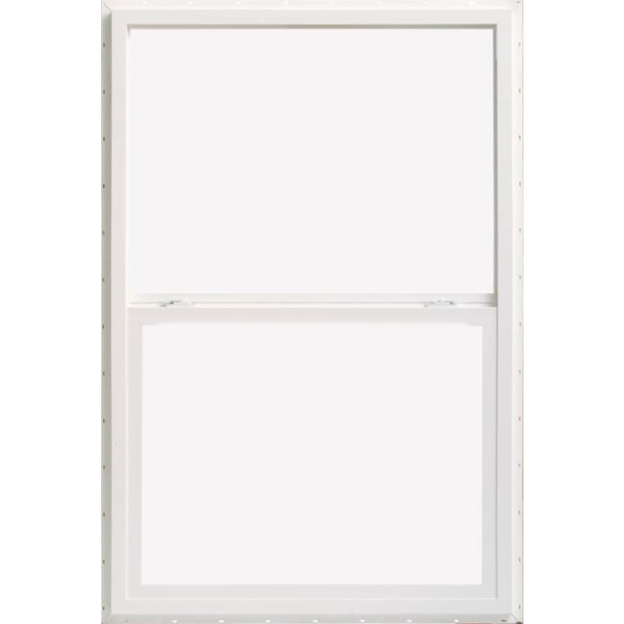 ThermaStar by Pella Vinyl Double Pane Annealed Single Hung Window (Rough Opening: 37.75-in x 50.63-in; Actual: 37.25-in x 50.13-in)
