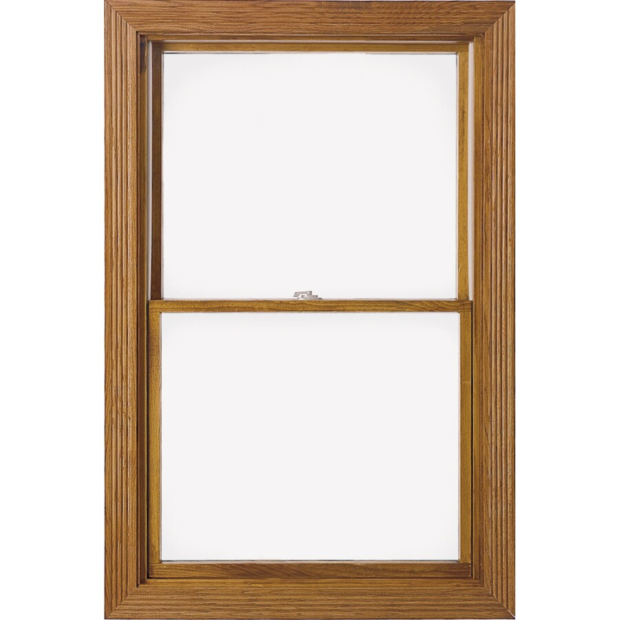Pella 24-1/4-in x 46-1/4-in 450 Series Wood Double Pane Double Hung Window