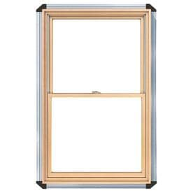 pella 450 series wood double pane annealed double hung window rough opening 3025 - Wood Frame Windows