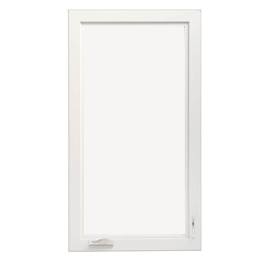 lowes pella windows thermastar thermastar by pella thermastar 1lite vinyl new construction egress white casement window