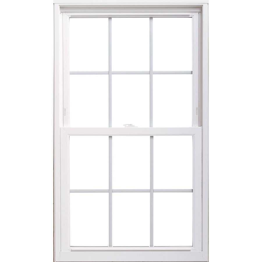 ThermaStar by Pella 20 Series Vinyl Double Pane Annealed Replacement Double Hung Window (Rough Opening: 31.75-in x 65.75-in; Actual: 31.5-in x 65.5-in)