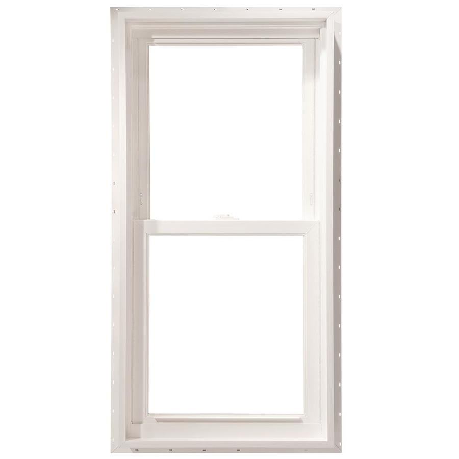 ThermaStar by Pella Vinyl Double Pane Annealed Double Hung Window (Rough Opening: 27.75-in x 53.75-in; Actual: 27.5-in x 53.5-in)