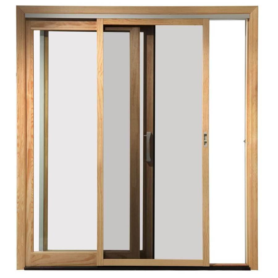 Merveilleux Pella White Fiberglass Sliding Screen Door (Common: 72 In X 80 In