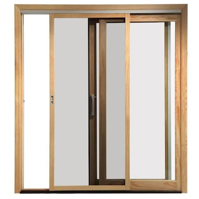 Pella Sliding Doors >> Pella 450 White Fiberglass Frame Sliding Screen Door Common 72 In 80 In Actual 35 425 In X 76 472 In