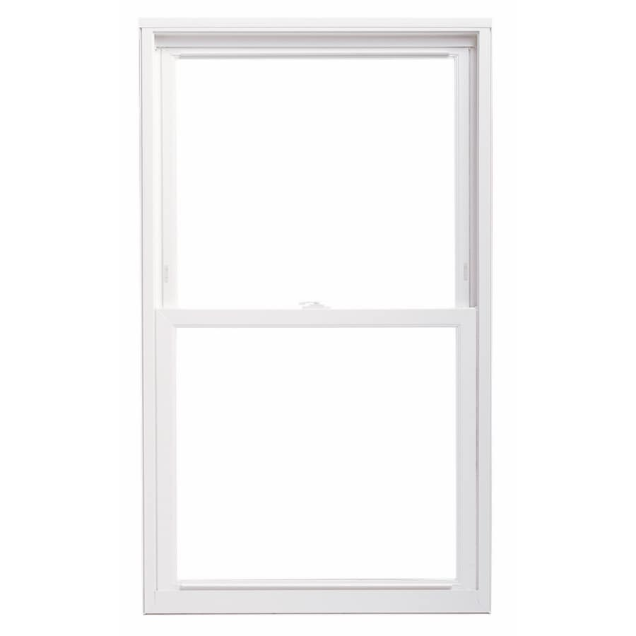 Shop thermastar by pella vinyl replacement white double for Picture window replacement