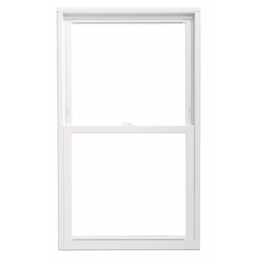 ThermaStar by Pella Vinyl Double Pane Annealed Replacement Double Hung Window (Rough Opening: 29.75-in x 69.75-in; Actual: 29.5-in x 69.5-in)