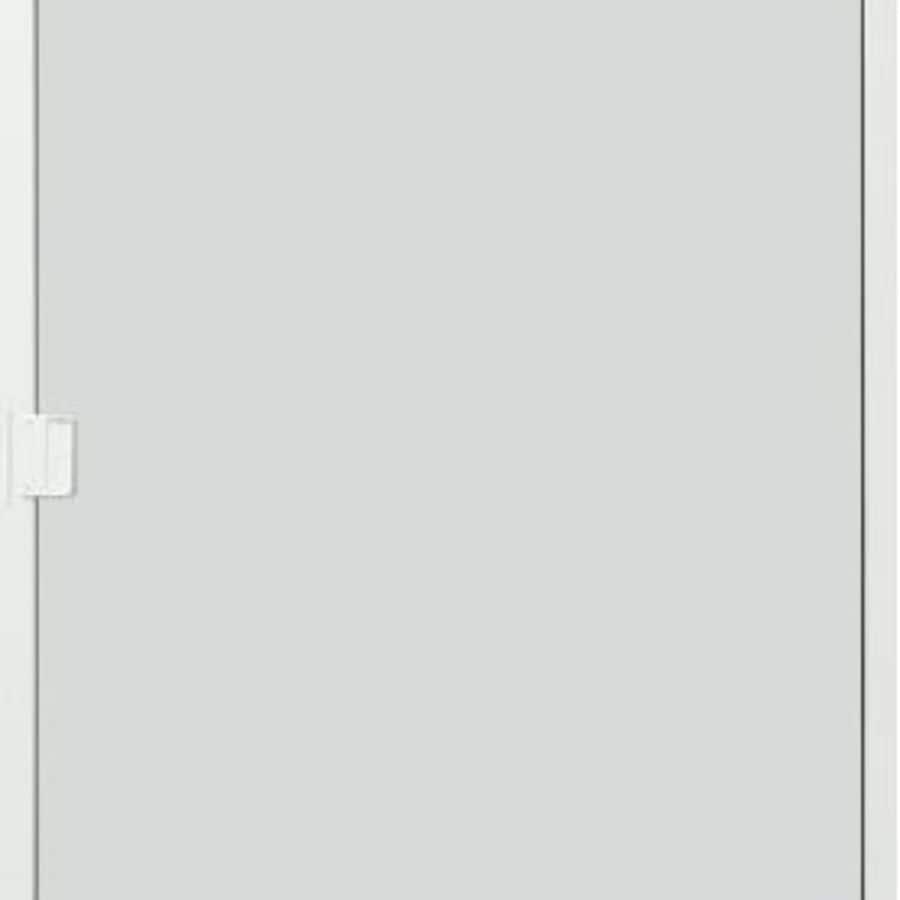 shop thermastar by pella white vinyl sliding 5 bar screen door common