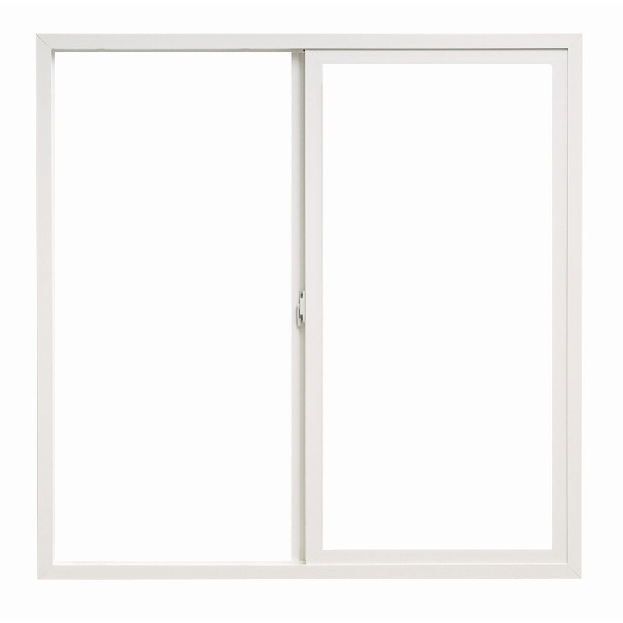 ThermaStar by Pella Left-Operable Vinyl Double Pane Annealed Sliding Window (Rough Opening: 48-in x 42-in; Actual: 47.5-in x 41.5-in)