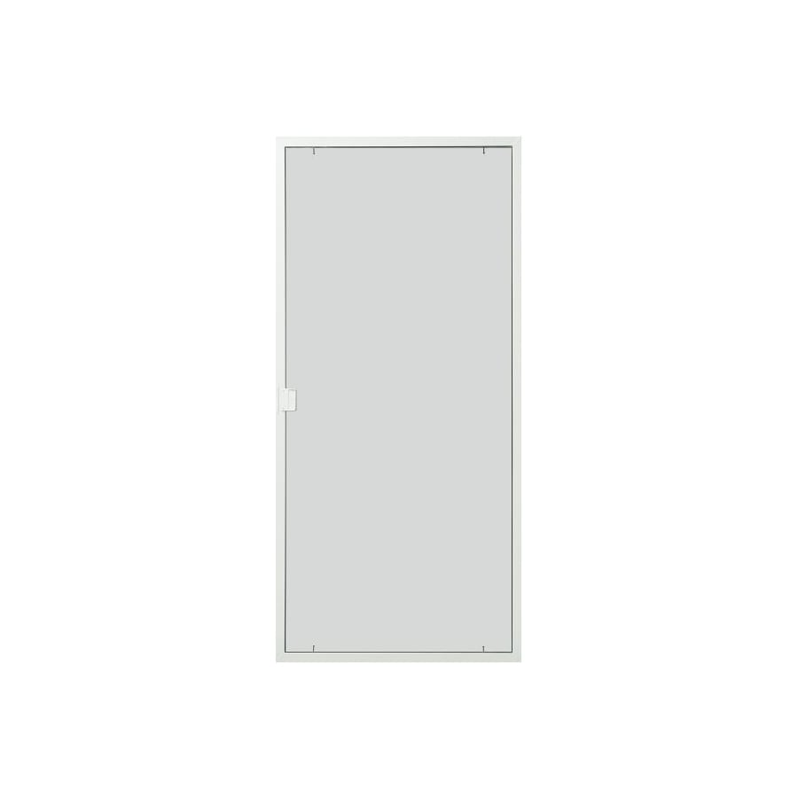 Shop thermastar by pella white aluminum sliding screen for Aluminum screen doors