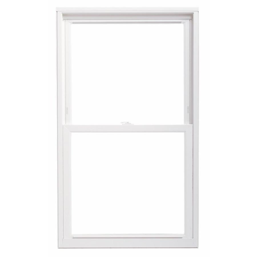 ThermaStar by Pella Vinyl Double Pane Annealed Replacement Double Hung Window (Rough Opening: 23.75-in x 37.75-in Actual: 23.5-in x 37.5-in)