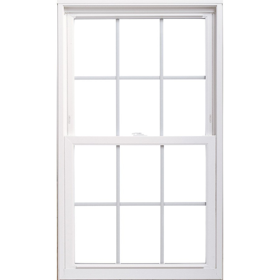 ThermaStar by Pella 20 Series Vinyl Double Pane Annealed Replacement Double Hung Window (Rough Opening: 27.75-in x 53.75-in; Actual: 27.5-in x 53.5-in)
