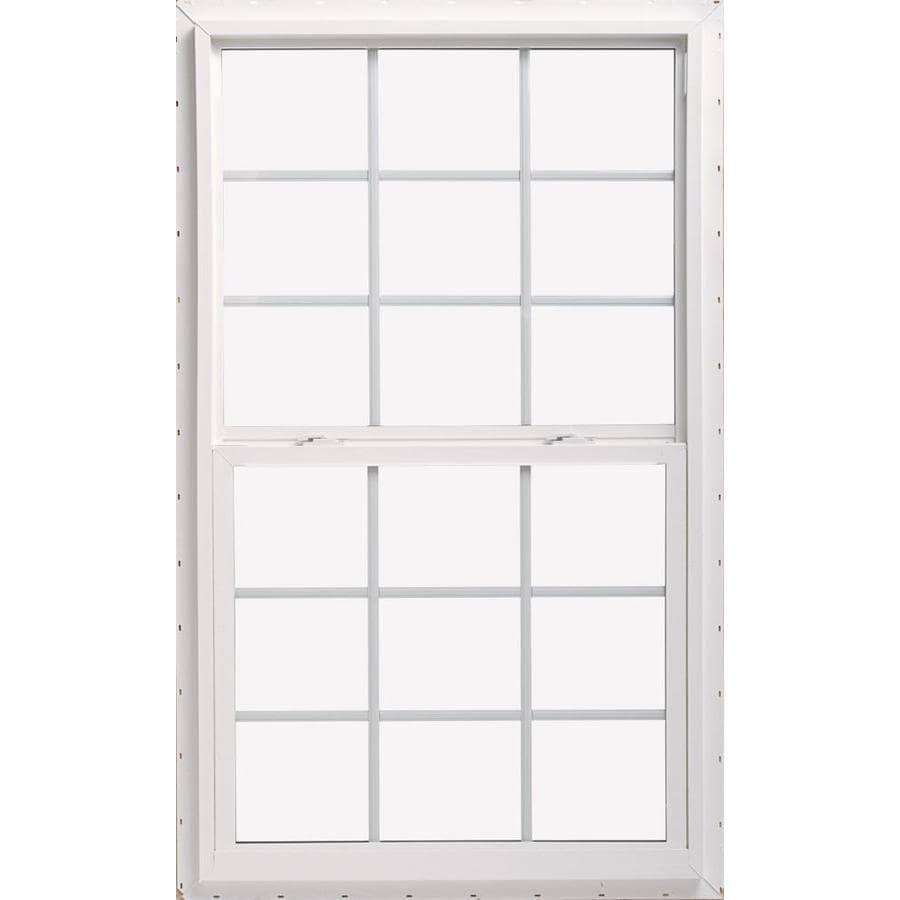 Shop thermastar by pella vinyl double pane annealed new for New construction windows reviews
