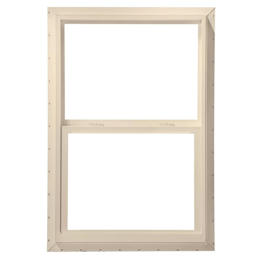 ThermaStar by Pella Vinyl Double Pane Annealed Mobile Home Single Hung Window (Rough Opening: 36-in x 48-in; Actual: 35.5-in x 47.5-in)
