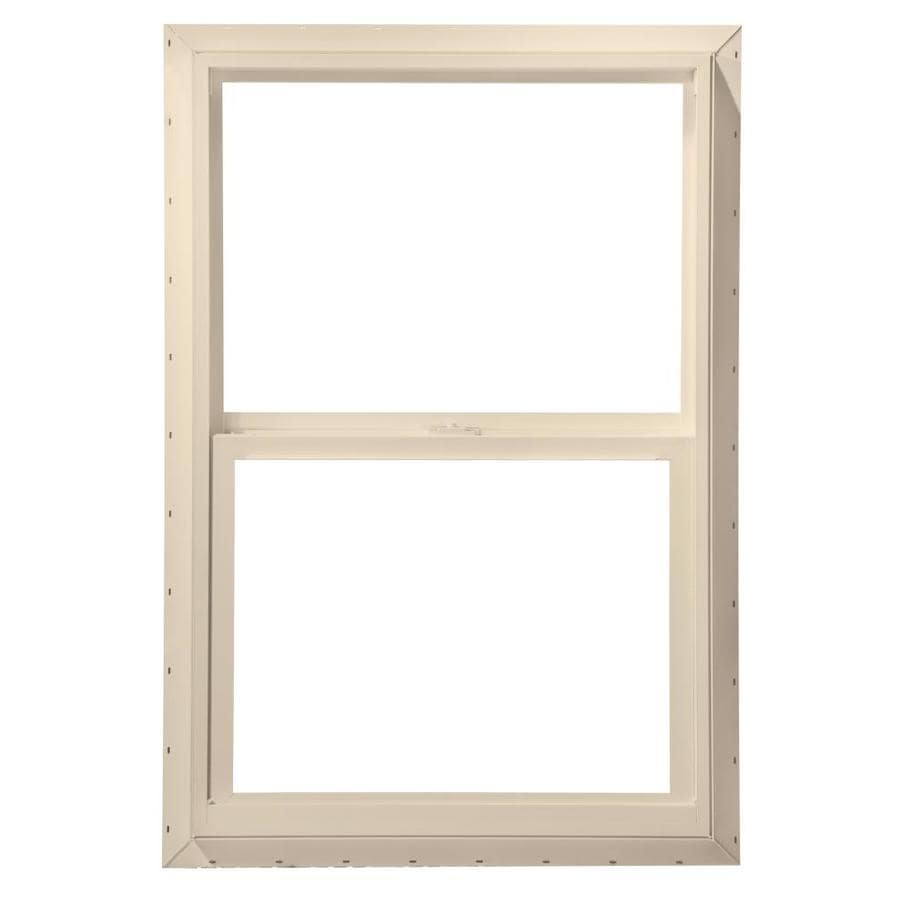 Double Pane Windows For Homes : Shop thermastar by pella vinyl off white new construction