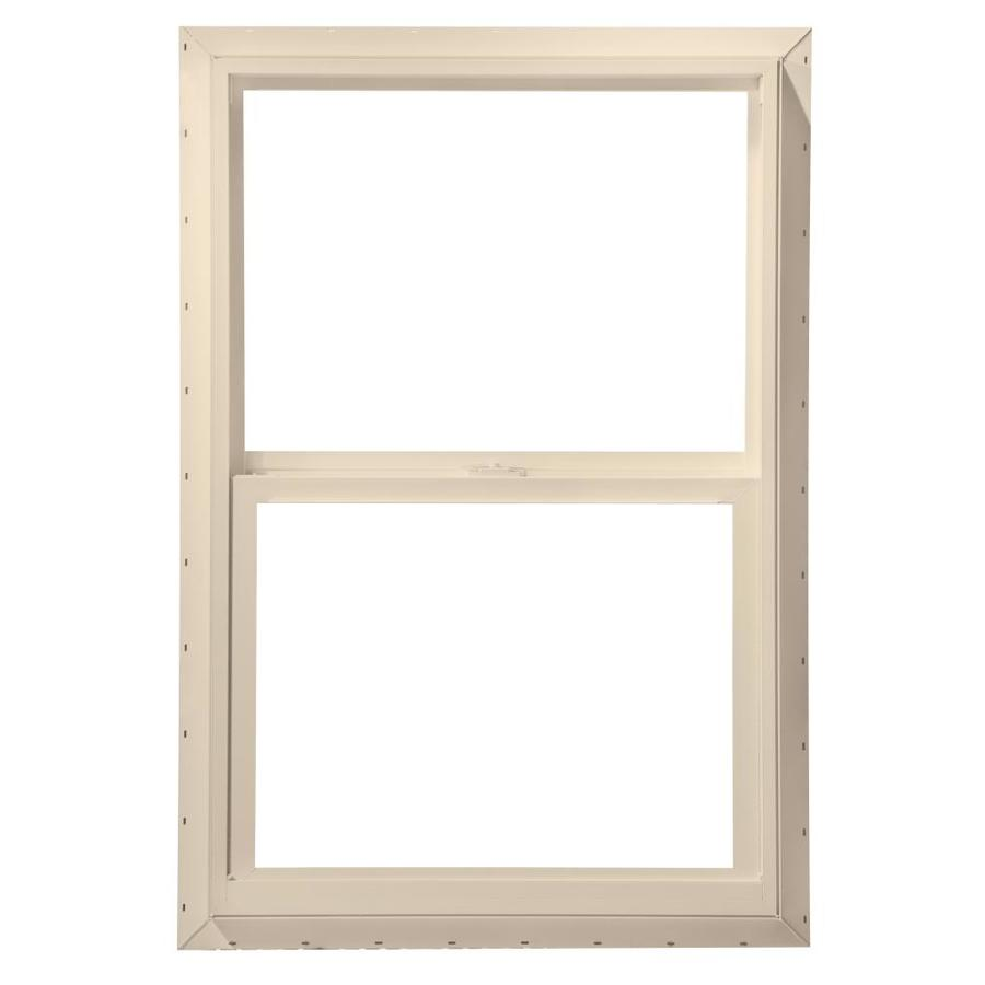 ThermaStar by Pella Vinyl Double Pane Annealed Mobile Home Single Hung Window (Rough Opening: 24-in x 48-in; Actual: 23.5-in x 47.5-in)