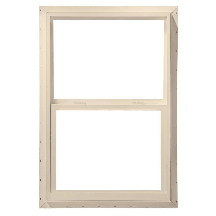 ThermaStar by Pella Vinyl Double Pane Annealed Mobile Home Single Hung Window (Rough Opening: 36-in x 60-in; Actual: 35.5-in x 59.5-in)
