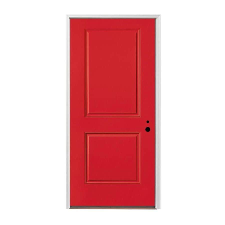 Shop pella 2 panel insulating core left hand inswing for Exterior door insulation